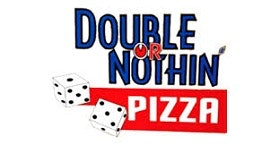 Double or Nothing Pizza logo