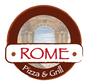 Rome Pizza logo