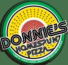 Donnie's Homespun Pizza
