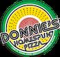 Donnie's Homespun Pizza logo