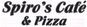 Spiro's Cafe & Pizza logo