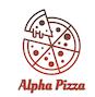 Alpha Pizza logo