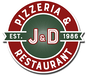 J & D Pizza logo