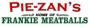 Pie-zan's Home of Frankie Meatballs logo