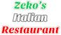 Zeko's Italian Restaurant logo