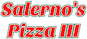Salerno's Pizza III logo