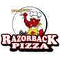 Jim's Razorback Pizza logo