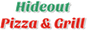Hideout Pizza and Grill logo