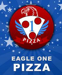 Eagle One Pizza logo