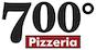 700 Degrees Pizzeria logo