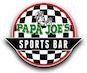 Papa Joe's Pizza Sports Bar logo