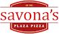 Savona's Plaza Pizza logo