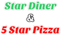 Star Diner & 5 Star Pizza logo
