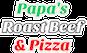 Papa's Roast Beef & Pizza logo