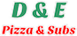 D & E Pizza & Subs logo