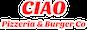 CIAO Pizzeria & Burger Co logo