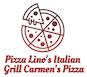 Pizza Lino's Italian Grill Carmen's Pizza logo