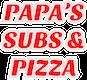 Papa's Subs & Pizza logo
