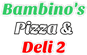 Bambino's Pizza & Deli 2 logo