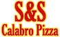 S & S Calabro Pizza logo