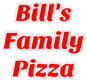 Bill's Family Pizza logo