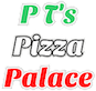 P T's Pizza Palace logo