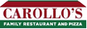 Carollo's Family Restaurant & Pizza -Turnersville logo